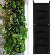 Worth Self Watering Vertical Wall Balcony Garden Hanging Planter Herbs Bag