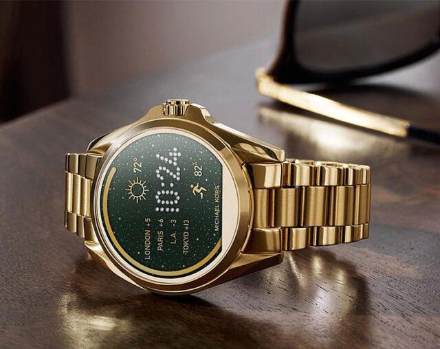 MICHAEL KORS 2018 Access Bradshaw TouchScreen Men Women Smart Watch Gold MKT5001