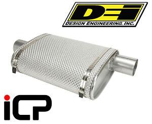 DEi-Exhaust-Silencer-Muffler-Box-Heat-Shield-Kit