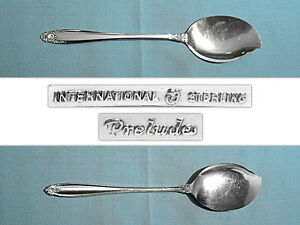 Prelude by International Sterling Silver Jelly Server 6 12 New