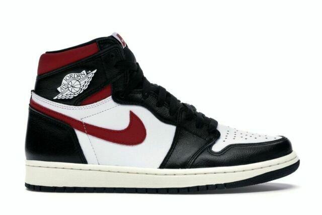 Nike Air Jordan Size 9 Retro High OG Sneakers - Red/Black/White ...