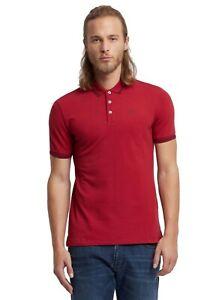 Emporio-Armani-Polo-T-Shirt-Uomo-Bordeaux-tg-varie-NUOVA-COLLEZIONE-S-S-19