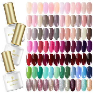BORN-PRETTY-Nail-UV-Gel-Polish-Soak-Off-Nail-Art-Topcoat-Base-Coat-Gel-Varnish