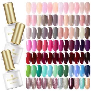 BORN-PRETTY-Nail-UV-Gel-Polish-Soak-Off-Nail-Art-Topcoat-Base-Coat-Gel-Varnish