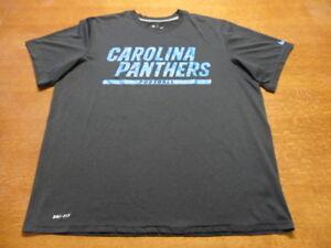 6704f38b1 Black Nike Dri-Fit NFL Carolina Panthers On Field Apparel T-Shirt XL ...