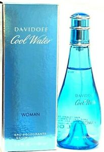 Details About Cool Water Davidoff Cool Water Women S 3 4oz Perfume Deodorant Spray