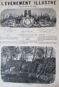 Ruin-Common-Paris-Kabylie-Leaping-Journal-L-Milestone-Illustre-No-No-21-of-1871