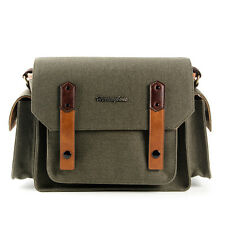 [Herringbone] PAPAS POCKET Season3 Medium Olive Camera/DSLR Shoulder Bag