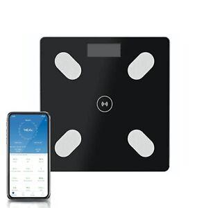 BILANCIA PESAPERSONE BLUETOOTH DIGITALE SMART ELETTRONICA IN VETRO FINO A 180 KG