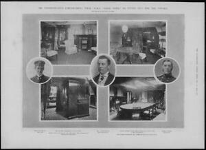 1902-Antique-Print-SHIPS-Chamberlain-Good-Hope-Halsey-Fawkes-Admiral-180