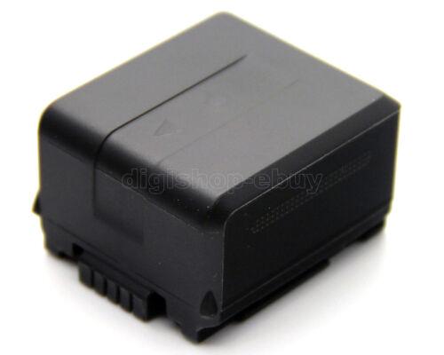 Cargador 2x Batería Para Panasonic SDR-H80 SDR-H80S SDR-H80K SDR-H80A SDR-H80R