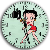 "Betty Boop wall Clock 10"" will be nice Gift and Room wall Decor W190"