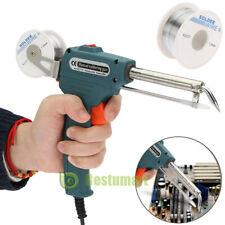 Manual Soldering Gun Electric Iron Auto Welding Machine Tool Kit 60w 110v 220v