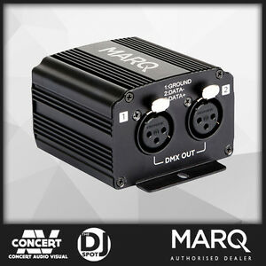 Details about MARQ SceniQ 2x2 DMX Interface for SceniQ Software (2048  Channels)