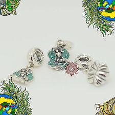 Genuine Pandora, Disney Ariel & Sea Shell Pendant Charm 791895EN111