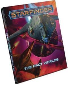 Starfinder RPG Pact Worlds Sourcebook SFRPG Paizo Publishing PZO7107