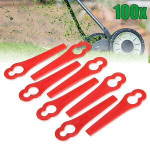 100Pcs-Kunststoffmesser-Ersatzmesser-Messer-Blades-fuer-Garden-Rasentrimmer