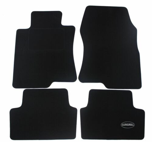Fußmatten Automatten Velours für Honda Accord 2008-2012 4tlg schwarz ohne Bef.