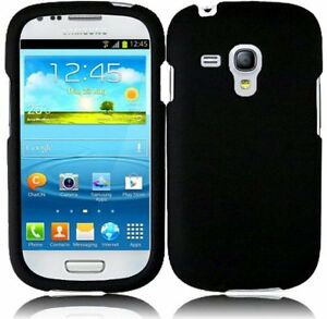 Rubberized-Hard-Snap-on-Two-Piece-Cover-Case-For-Samsung-Galaxy-S3-Mini-i8190