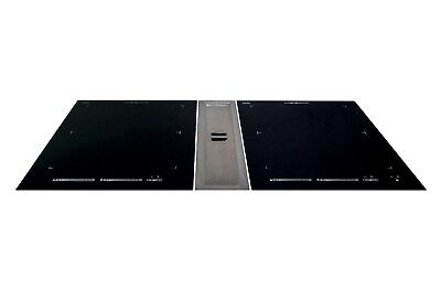 Tisch Dunstabzugshaube Tischabzug Interia Pure mit 2 induktionskochfeldernEEK A+ | eBay