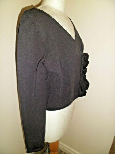 laine portée une Superbe fois Mariella veste tricotée Uk Rosati 12 en inhabituelle wqqfSgcER