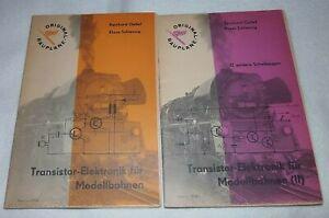 HO-O-TT-DDR-ORIGINAL-DMV-BAUPLANE-Transistor-Elektronik-fuer-Modellbahnen-I-amp-II