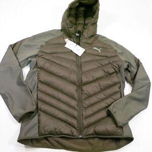 160-PUMA-Men-039-s-Hybrid-600-Down-Jacket-Size-XXL-Forest-Night-Style-851631-NWT