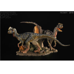 Rebor-Dilophosaurus-Pair-Green-Day-and-Oasis-NEW
