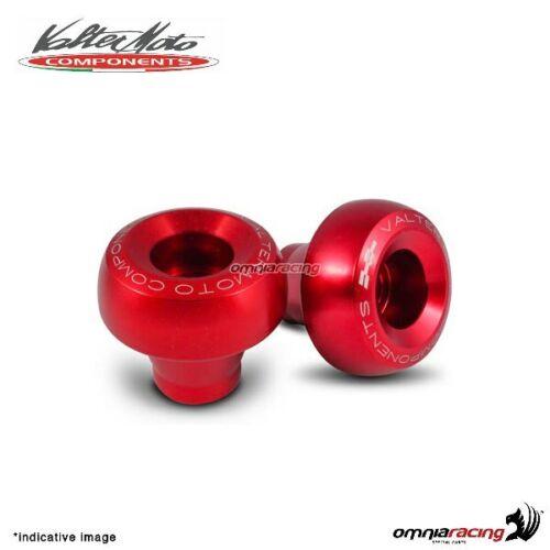 Valtermoto STREET rot rahmenprotektoren adapter kit Suzuki GSXR750 2009