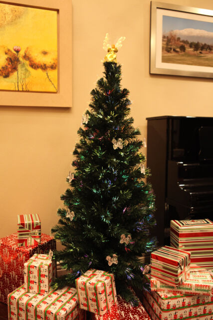 Pre-lit Rotating Christmas Trees collection on eBay!