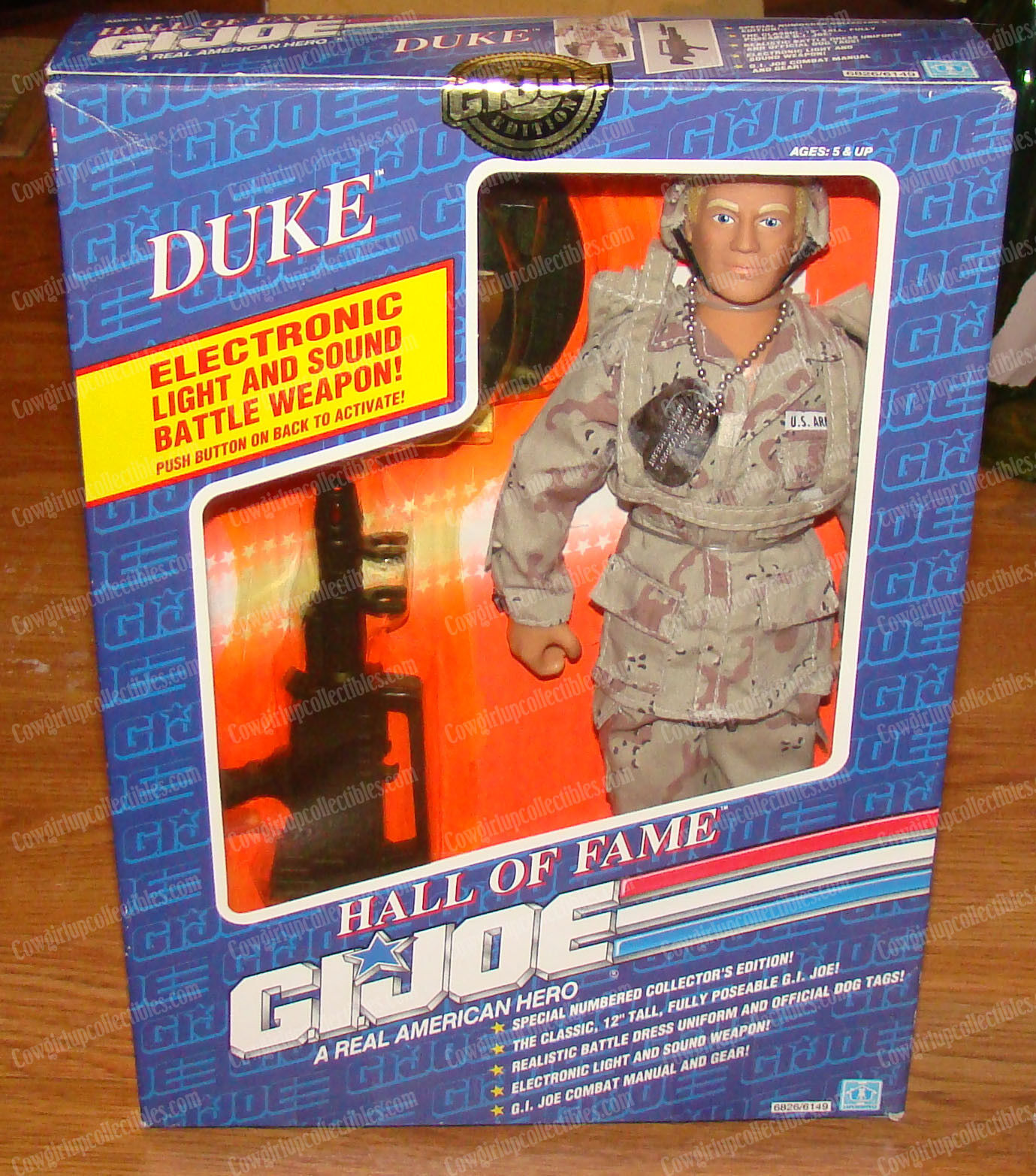 Duke (Hall of Fame G.I. Joe by Hasbro, 6826 6149) 1991, Light & Sound