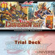 H-SD01: Crimson Fist - Future Card Buddyfight Hundred Trial Deck