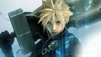 Final Fantasy Vii 7 24x36 Poster Play Station Sony Video Games Cloud Strife 3d