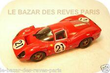 FERRARI  P4  Le Mans 1967  Marque TENARIV  Kit métal . échelle 1/43