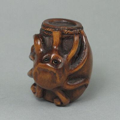 Boxwood Netsuke OCTOPUS Carving (SALE!) WN314