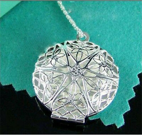 NEW Lady Women Jewellery  Silver Pendant Necklace ChanGIFT 925Bag