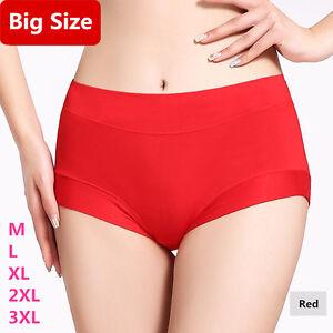 bae33ed3a9f Image is loading Plus-Briefs-Women-Underwear-Cotton-Lady-Modal-Soft-