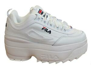 fila white platform