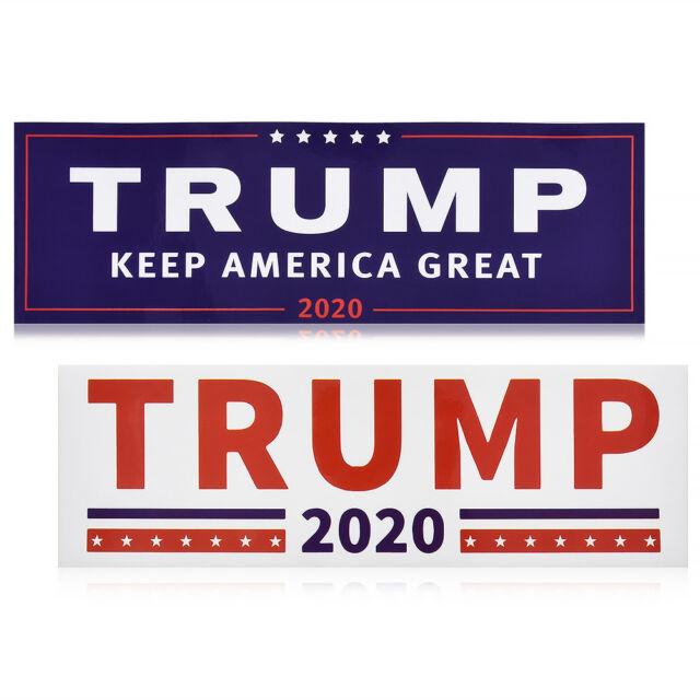 10x Donald Trump for President 2020 Make America Great Again Car Bumper Stickers