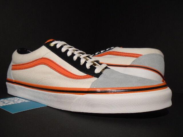 7b96645619 VANS Old Skool Shoe Biz Giants Halloween Gray Flame Orange White Black  WTAPS 12 for sale online