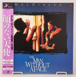 04392-F-S-by-Air-Mint-Laserdisc-THE-MAN-WITHOUT-A-FACE-PILF-7284-w-OBI-Japan