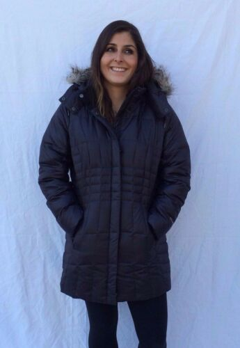 NWT Women/'s Eddie Bauer High Pass Down Parka Black