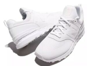 competitive price 70a2b a4a70 Details about New Balance MS574SWT D 574 Triple White Men Running Shoes  Sneakers MS574SWT 12