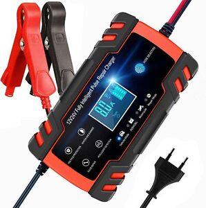 Intelligentes Batterieladegerät 12/24V Batterieerhaltungsgerät Für KFZ Auto
