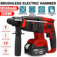 Electric Cordless Lithium Ion Sds Rotary Hammer Drill 4 Modes Rechargeable Kits