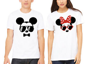 ecddca980 Image is loading Mickey-and-Minnie-Family-Couple-Husband-And-Wife-