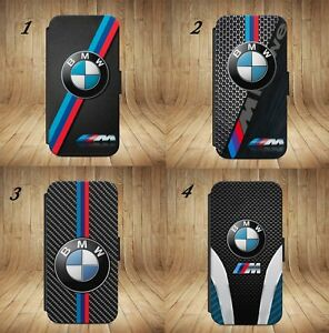 Luxury-BMW-M3-M4-M5-M6-X5M-3D-Flip-Wallet-phone-Case-Cover-For-IPhone-amp-Samsung