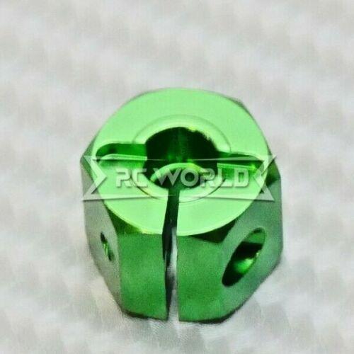 4 pcs RC 1//10 Scale Anodized Aluminum 12MM WHEEL Spacer 12MM HUB BLACK