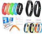 Intelligente Orologio Polso Bluetooth Sonno Sport Fitness Tracker Contapassi
