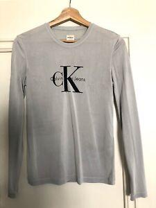 calvin klein vintage logo sweatshirt ebay